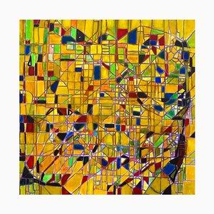 Reticulum - Öl auf Leinwand von Giorgio Lo Fermo - 1995 1995