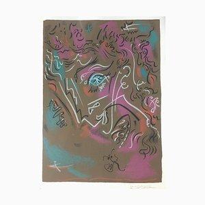 Galerie Louis Leiris - Original Lithograph by André Masson - 1968 1968