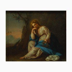 Schmerzenslieutliche Madonna mit Leidenschaften aus dem 17.-18. Jahrhundert