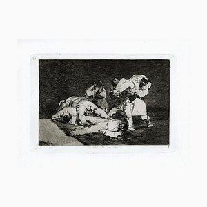 Gravure à l'Eau-Forte Originale de Francisco Goya - 1863 1863