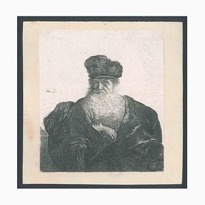 An Old Man with a Beard, Fur Cap and Velvet Cloak 1631 ca.