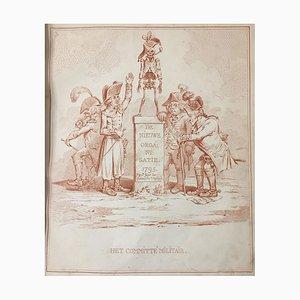 Hollandia Regenerata - Rare Original Illustrated Pamphlet - 1795 1795