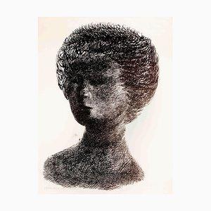 Nanda - Original Lithograph by Emilio Greco - 1955 1955