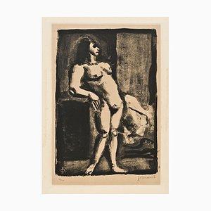 La Fille - Original Lithographie von Georges Rouault 1926