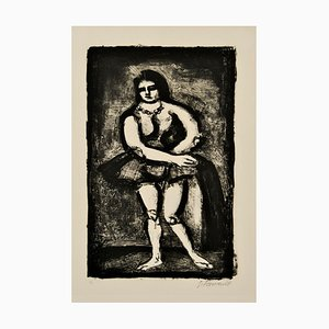 The Horsewoman - Original Lithograph by G. Rouault - 1926 1926
