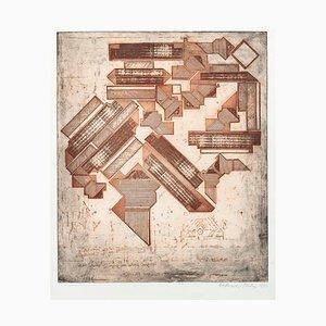 Hommage an Michelangelo - Original Radierung 1975 1975
