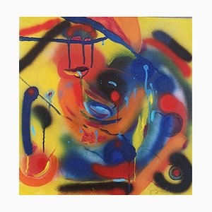 Composition - Acrylic on Canvas by M. Goeyens - 2000s 2000s