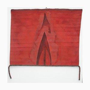 Red Libation - Original Mixed Media by Giulio Greco - 1989 1989