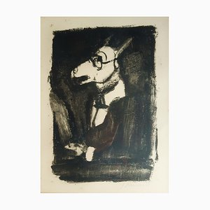 L'Ane - Original Etching and Aquatint by G. Rouault - 1927 1927