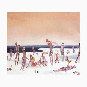 Snow Beach - Oil on Canvas by Alessandro Bazan - 2008 2008