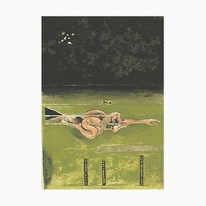 The Swimmer - Original Lithografie von Graham Sutherland - 1973 1973