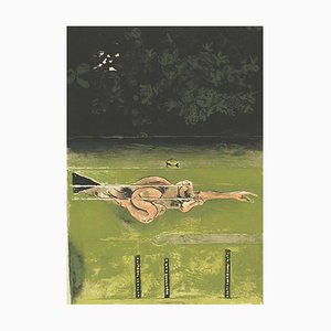 The Swimmer - Original Lithograph by Graham Sutherland - 1973 1973