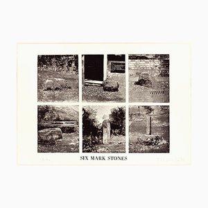 Six Mark Stones - Original Erching by Joe Tilson - 1976 1976