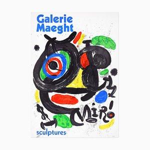 Vintage Mirò Ausstellungsplakat Galerie Maeght - 1970 1970