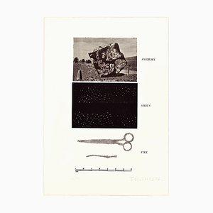 Avebury, Sirius, Fire - Original Erching by Joe Tilson - 1976 1976