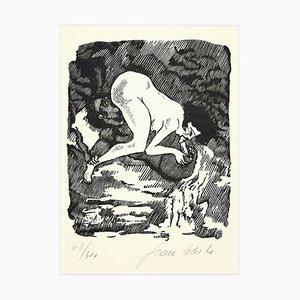 Pleasure - Linolschnitt auf Papier von Jean Barbe / Mino Maccari - 1945 1945