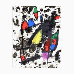 Coverture - Original Lithographie von Joan Mirò - 1974 1974