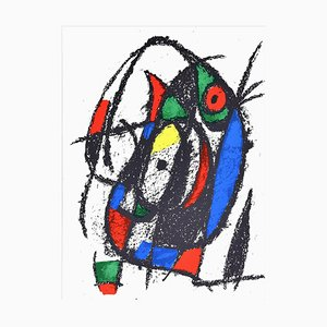 Composition - Original Lithographie von Joan Mirò - 1974 1974
