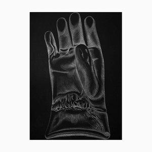 Schwarzer Handschuh - Original Radierung von Giacomo Porzano - 1972 1972