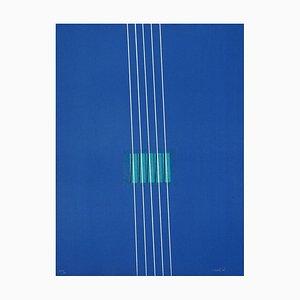 Lithographie Purple - Original par Lorenzo Indrimi - 1970 ca. 1970