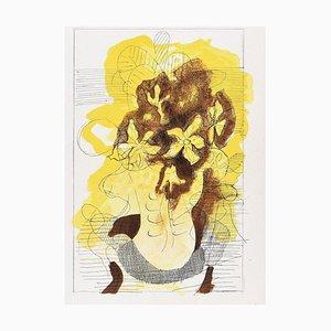 Lithographie originale pour Revue '' Verve '' par Georges Braque - 1955 1955
