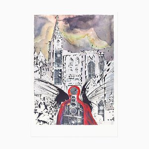 Plate III - From ''Suite Papillon'' - Original Lithograph and Heliogravure - 1969 1969