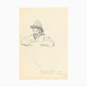 Boccio - Original Pencil Drawing by Ildebrando Urbani - 1932 1932