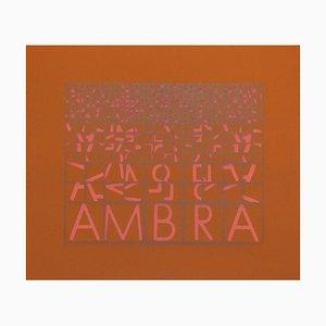 Ambra (Amber) - Original Screen Print by Bruno di Bello - 1980 ca. 1980 ca.