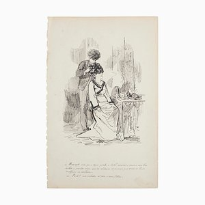 Scenographies - Set of 3 Original Lithographs by European Master Early 1900 Early 20th Century