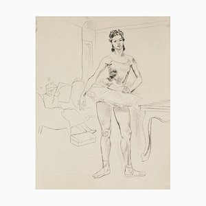 Ballerina - Original Etching - 1960s 1960s