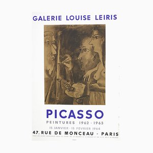 Picasso Vintage Exhibition Poster in Paris - 1964 1964