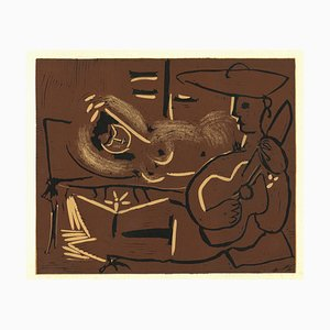 Linogravure Originale Après Pablo Picasso - 1962 1962