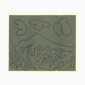 Linogravure d'Origine Après Pablo Picasso - 1962 1962