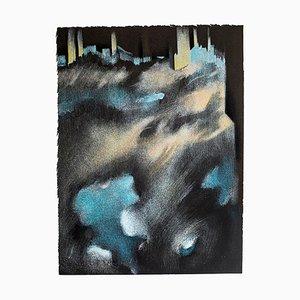 Ville - Original Lithographie von B. Kelly - 1980er 1980s