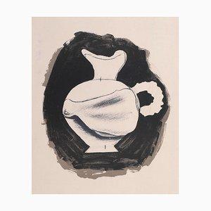 Litografia - Brocca - Litografia originale di Georges Braque - 1959 1959