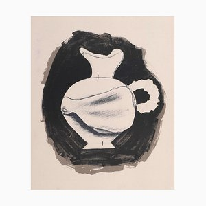 Untitled - Pitcher - Original Lithograph by Georges Braque - 1959 1959