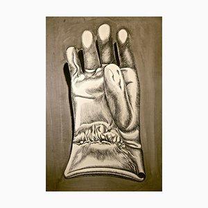 Glove - Original Radierung von Giacomo Porzano - 1972 1972