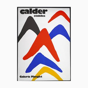 Alexander Calder Exhibition at Galerie Maeght - Poster - 1971 1971