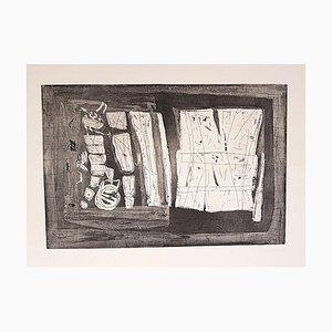 Composición abstracta - Grabado Original de Antonio Corpora - 1969 1969