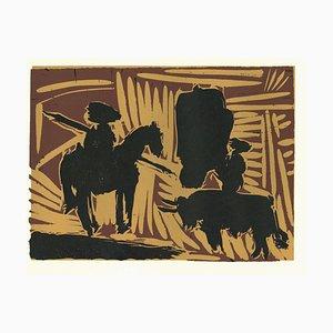 Avant Pique - Original Linolschnitt nach Pablo Picasso - 1962 1962