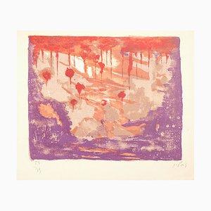 Réflexion - Original Lithographie von Jean Pons - 1963 1963