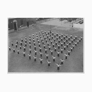 Faschismus - Außen Sportunterricht - Vintage Photo 1934 1934