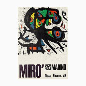 Joan Miró Exhibition Poster - 1971 1971