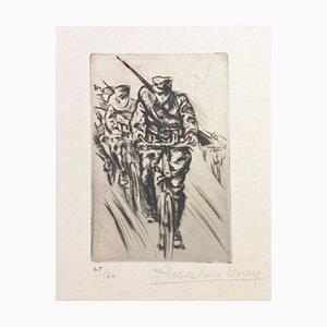Vite ... - Original Radierung von Anselmo Bucci - 1917 1917