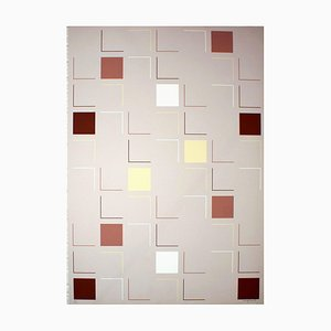 Square (Grey) - Original Screen Print by A. Mengolini - 1976 1976