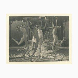 Schwestern der Salome - Vintage Héliogravure by Franz von Bayros - 1921 ca. 1921 ca.