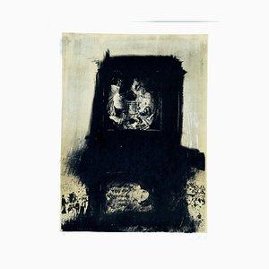 Two Worlds - Original Lithograph by Nani Tedeschi - 1971 1971