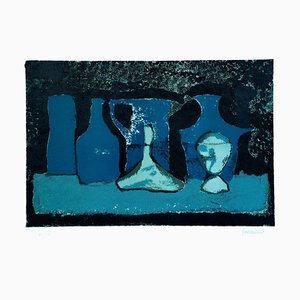 Lithographie Pots in the Shade - Original par Guido Mirimao - 1970 ca. 1970