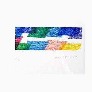 Abstract Composition - Original Lithografie von Piero Dorazio - 1968 1968