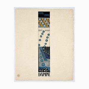 Daphne - Original Lithograph by F. Siméon - 1925 1925